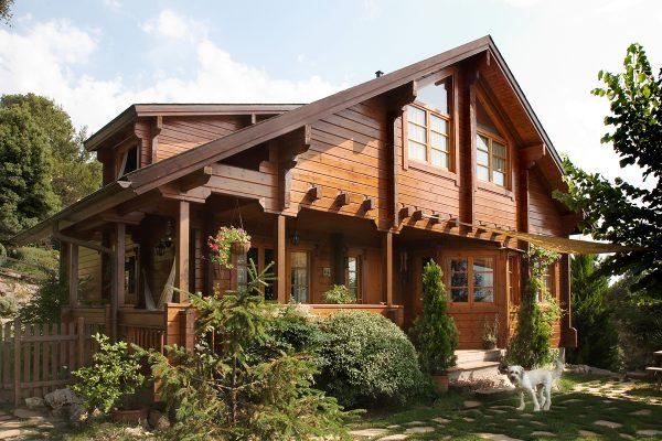 Casas de madera en Chalet de Madera 13572