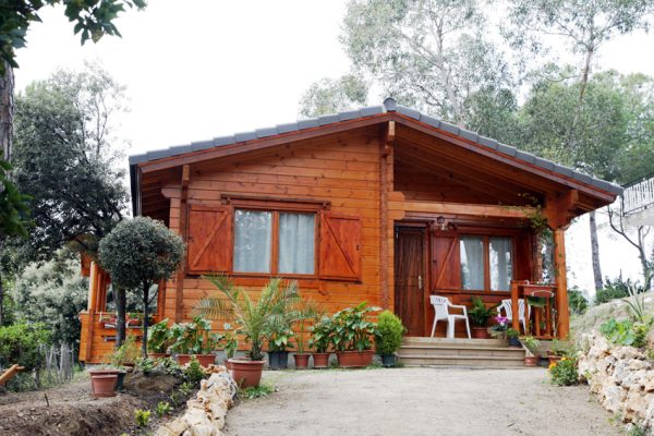 Casas de madera en Chalet de Madera 13568