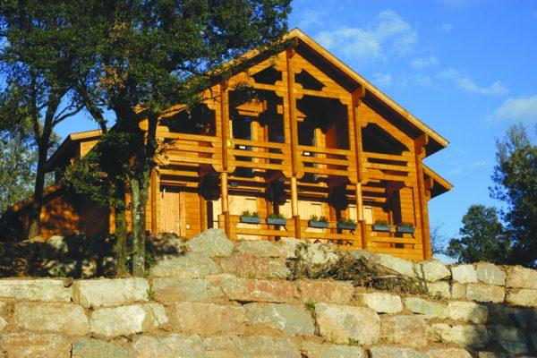 Casas de madera en Chalet de Madera 13565