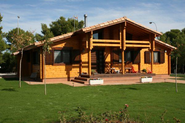 Casas de madera en Chalet de Madera 13555