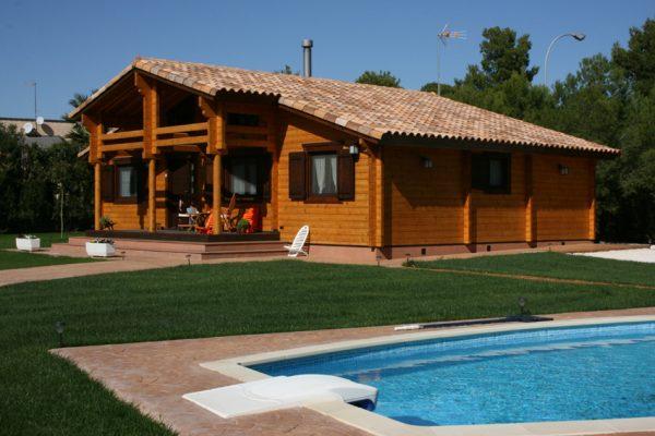 Casas de madera en Chalet de Madera 13554