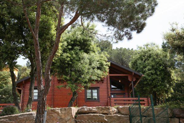 Casas de madera en Chalet de Madera 13550