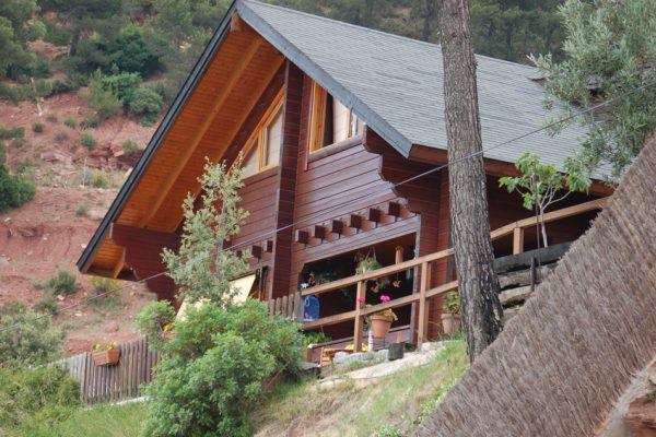 Casas de madera en Chalet de Madera 13549