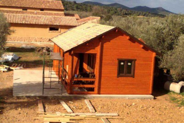 Casas de madera en Nordik 13188