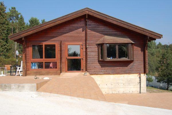 Cabañas de madera en Eguretxe & Sanz 13883