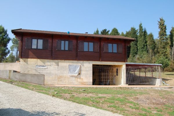 Cabañas de madera en Eguretxe & Sanz 13884