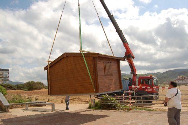 Cabañas de madera en Eguretxe & Sanz 13885