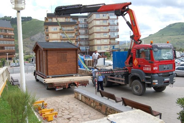 Cabañas de madera en Eguretxe & Sanz 13886