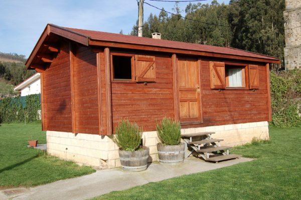 Cabañas de madera en Eguretxe & Sanz 13888