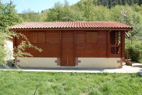 Cabañas de madera en Eguretxe & Sanz 13889
