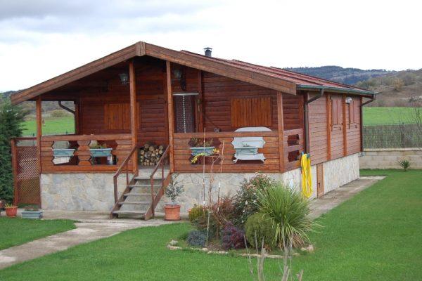 Cabañas de madera en Eguretxe & Sanz 13890