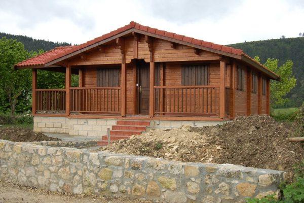 Cabañas de madera en Eguretxe & Sanz 13891