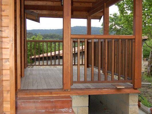 Cabañas de madera en Eguretxe & Sanz 13893
