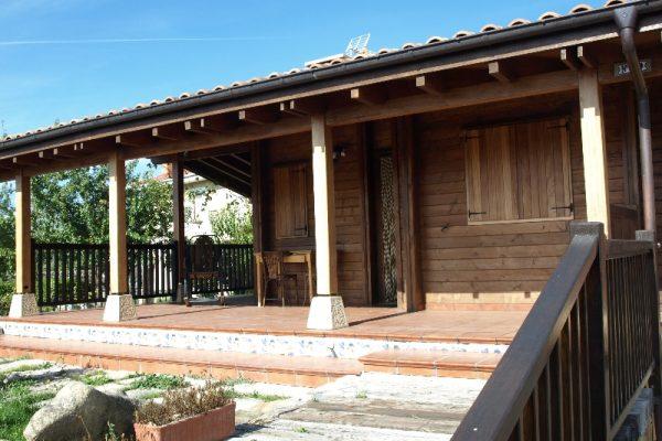 Cabañas de madera en Eguretxe & Sanz 13897