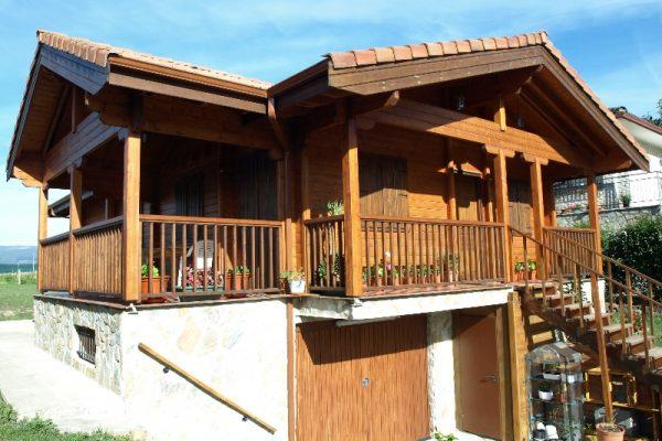 Cabañas de madera en Eguretxe & Sanz 13899