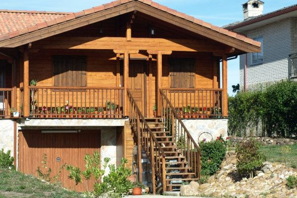 Cabañas de madera en Eguretxe & Sanz 13900